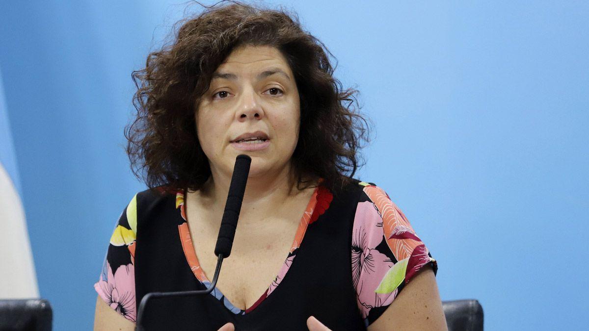 Vizzotti, la elegida para reemplazar a Ginés González García