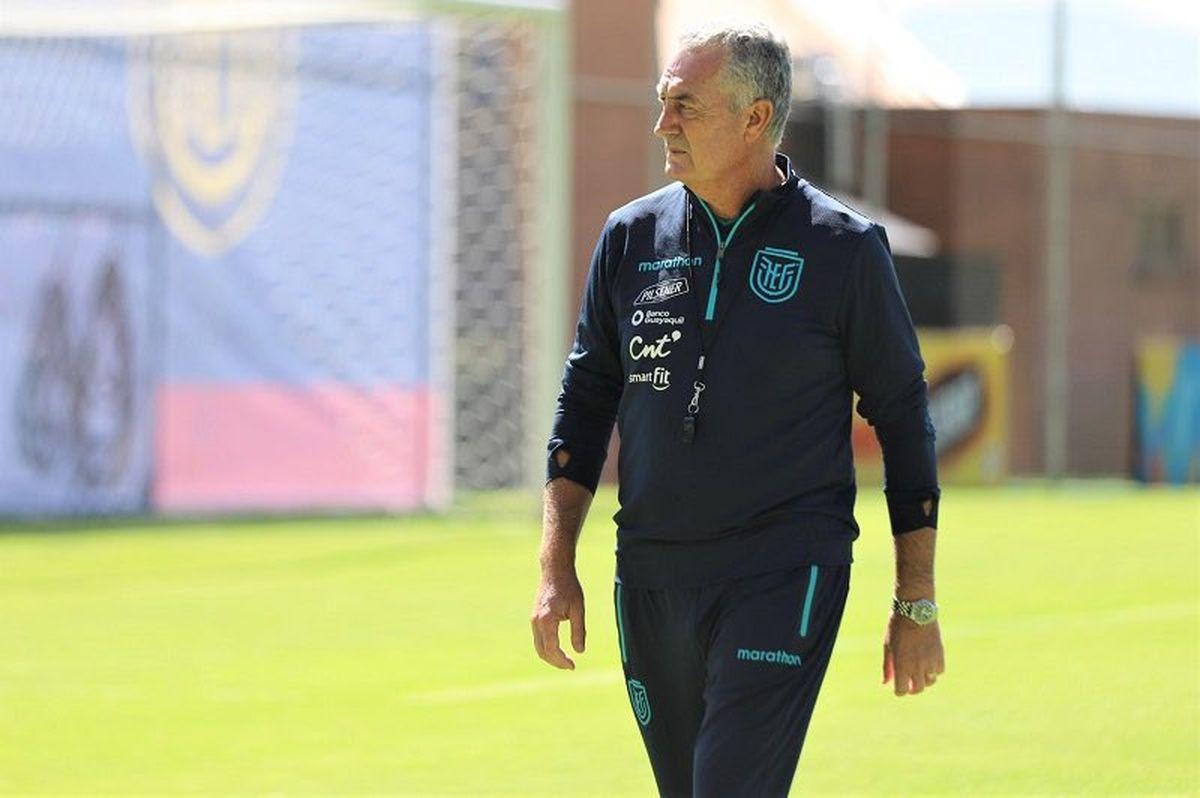 Gustavo Alfaro llevó a Ecuador a los cuartos de final de la Copa América 2021.