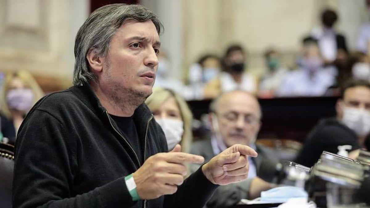 Máximo Kirchner está internado.