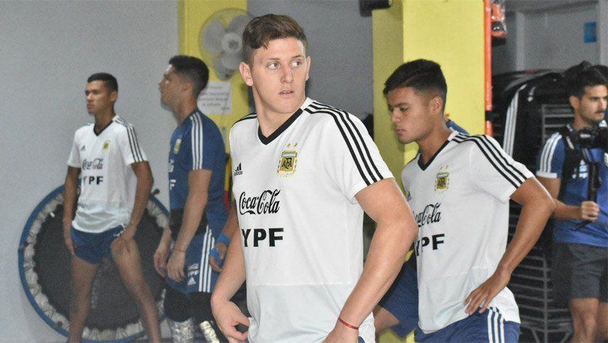 Día, hora y TV del clásico entre Argentina y Chile en el Preolímpico Sub 23