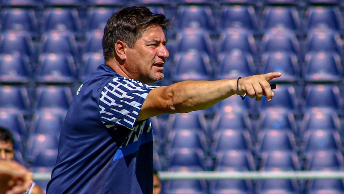 Marcelo Straccia dejó de ser el técnico de la Lepra