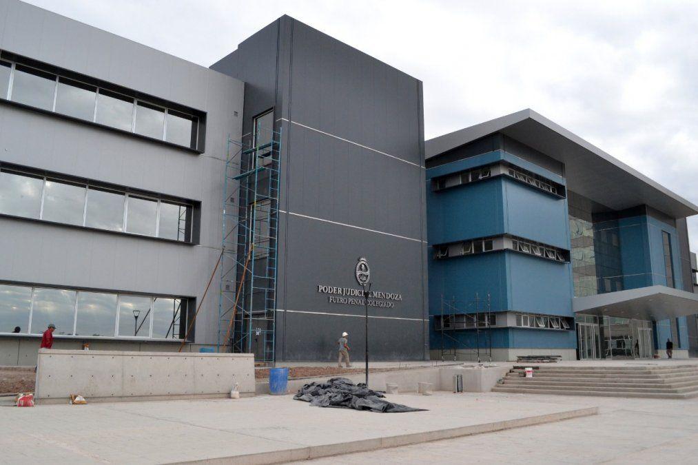 Parte del Polo Judicial: el edificio destinado al Fuero Penal Colegiado.