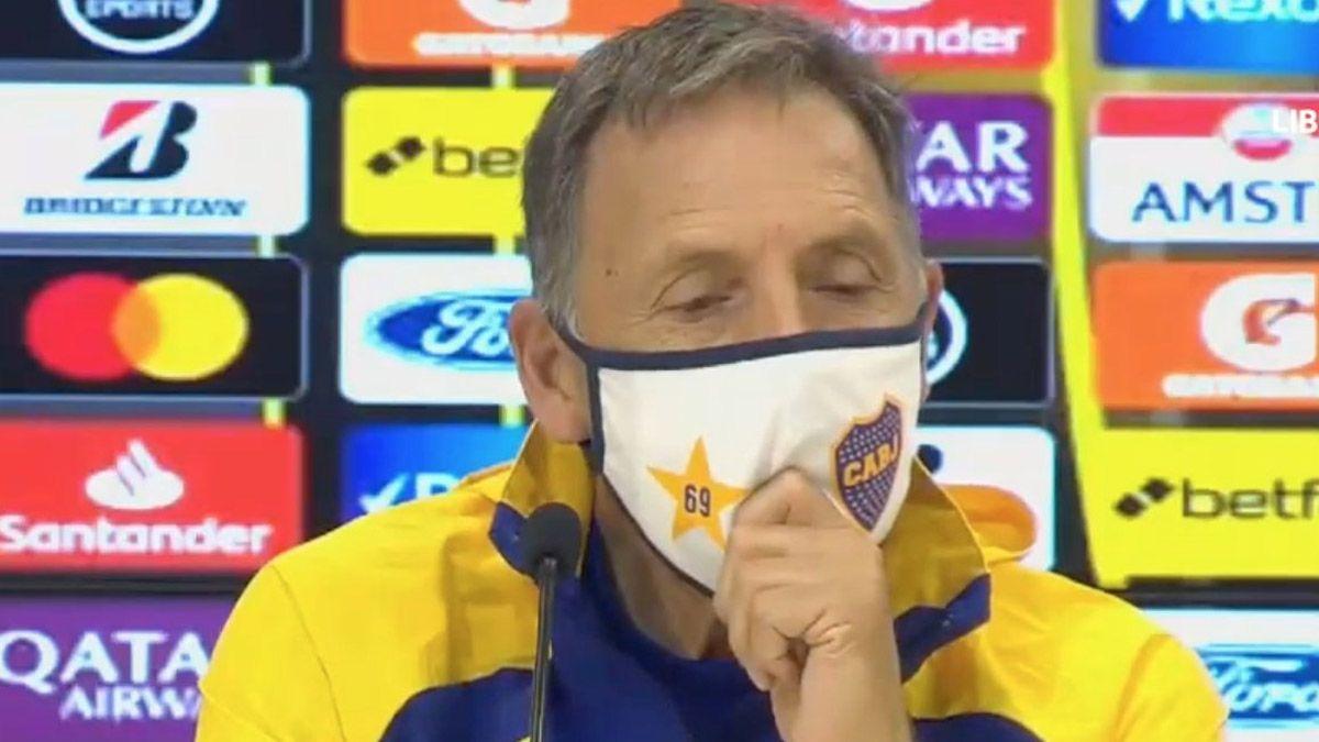 Russo reveló qué lo llevó a renovar contrato con Boca