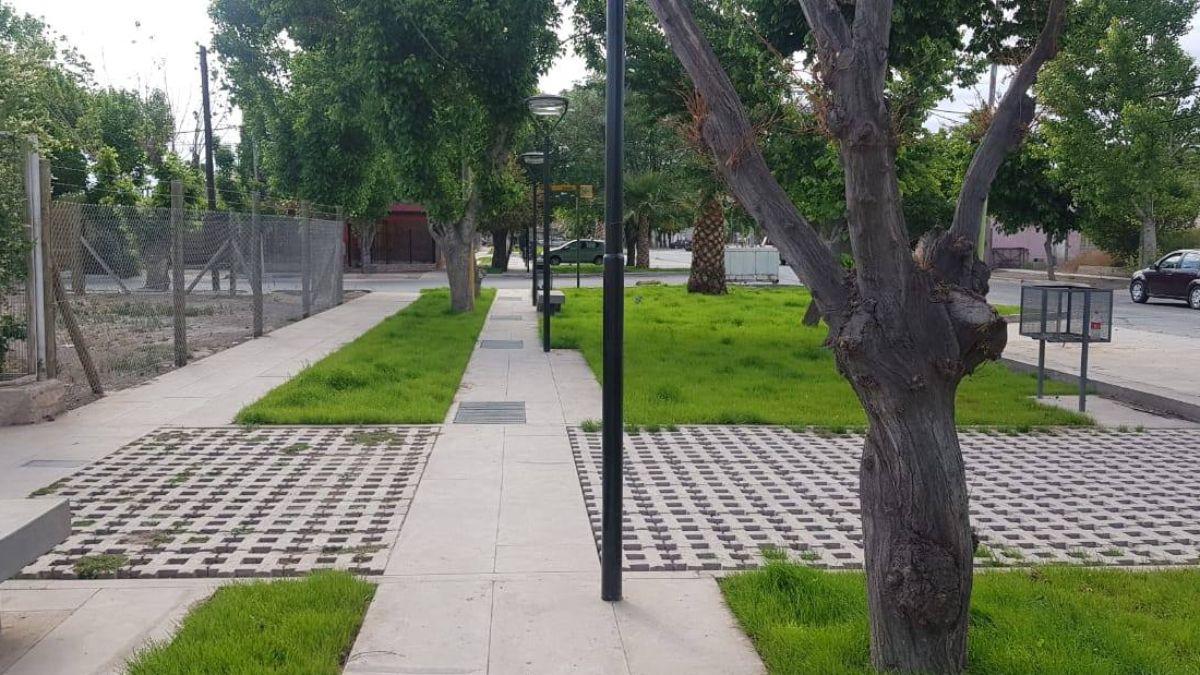 Cóndor de América. Así se lamará desde este jueves el paseo que se hubica en calle Belgrano de la ciudad cabecera del departamento de Junín.