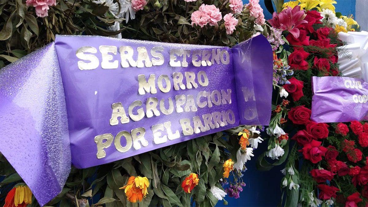 Los restos del eterno Morro García fueron trasladados a Uruguay