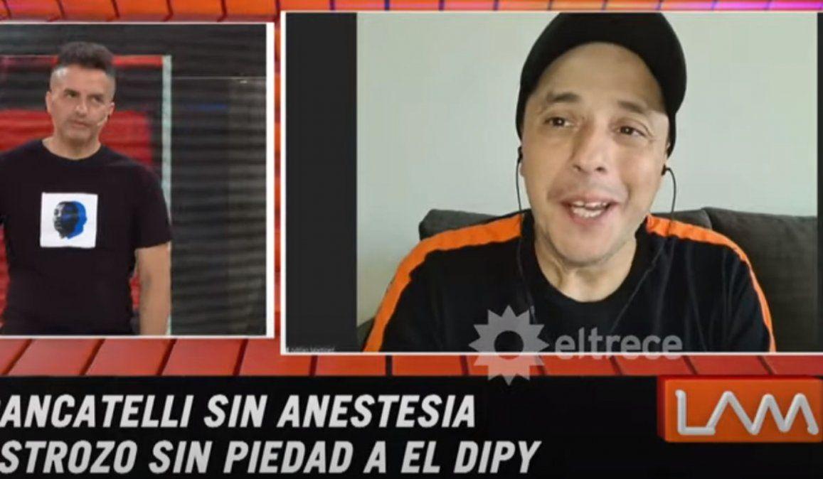 El Dipy tildó a Brancatelli de cornudo y rata inmunda