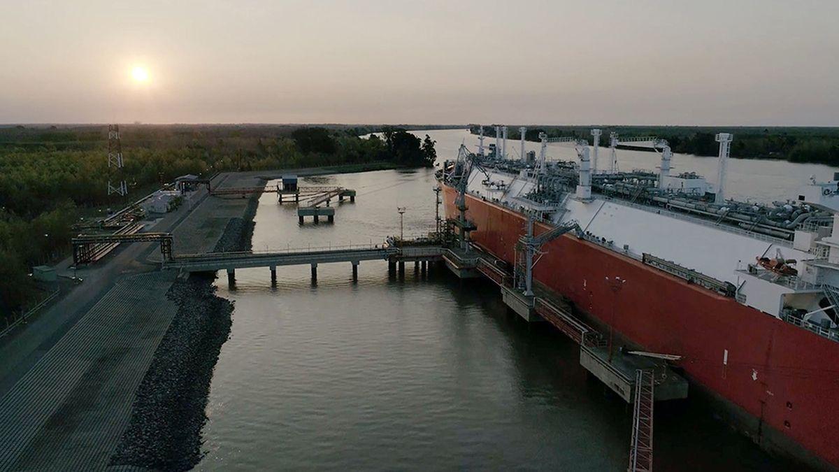El abastecimiento de gas natural a Chile fue autorizado por seis millones de metros cúbicos.