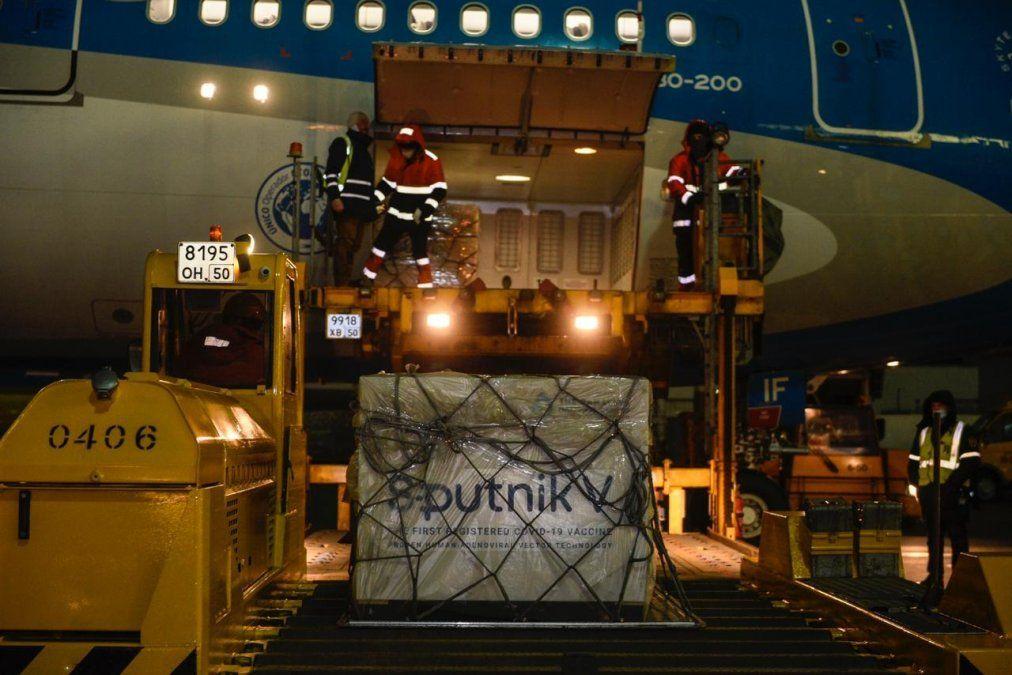 La vacuna rusa Sputnik V llega este jueves a Argentina