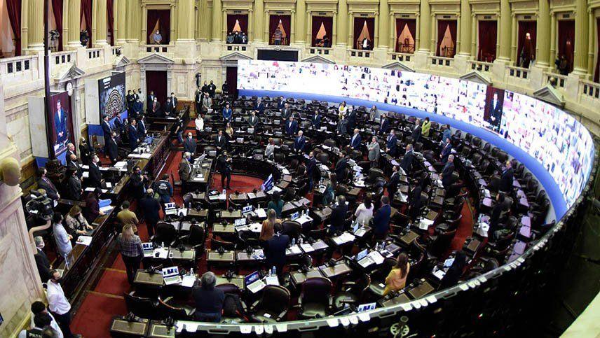 Exitoso cierre de la sesión en Diputados
