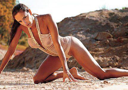 Luciana Aimar se sacó fotos hot