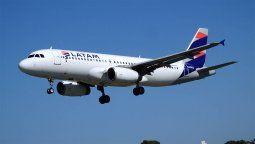 Latam pidió poder volar desde Mendoza a Chile y Brasil