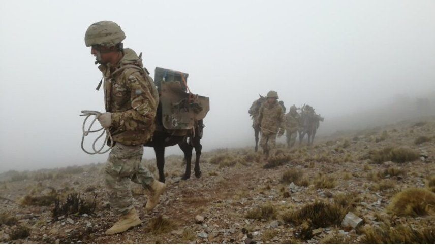 Cómo ingresar al Ejército y ganar desde $25.000: se abrió la inscripción en  Uspallata y Las Heras