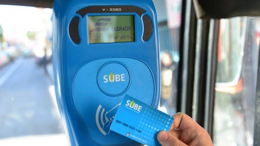 La tarjeta SUBE debutará en Mendoza el 14 de enero