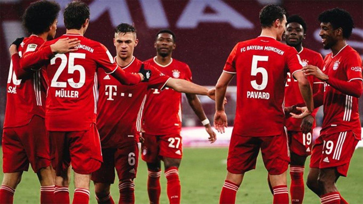 Bayern Munich salió campeón por novena vez consecutiva