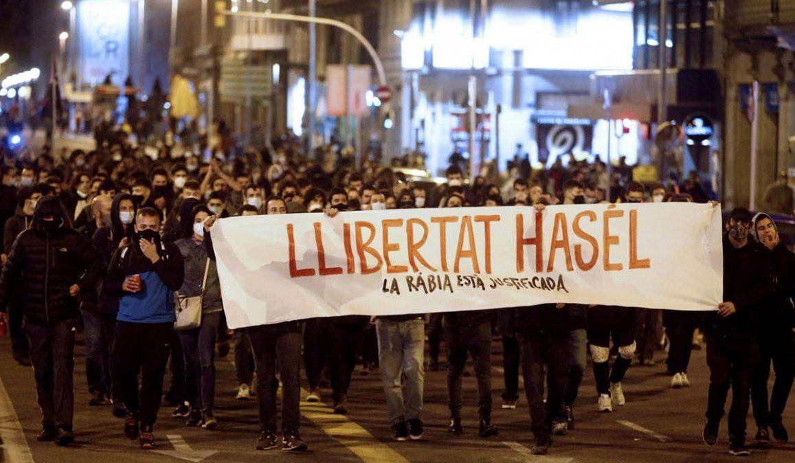 La detención del rapero Pablo Hasel sigue generando protestas en Cataluña y otras ciudades