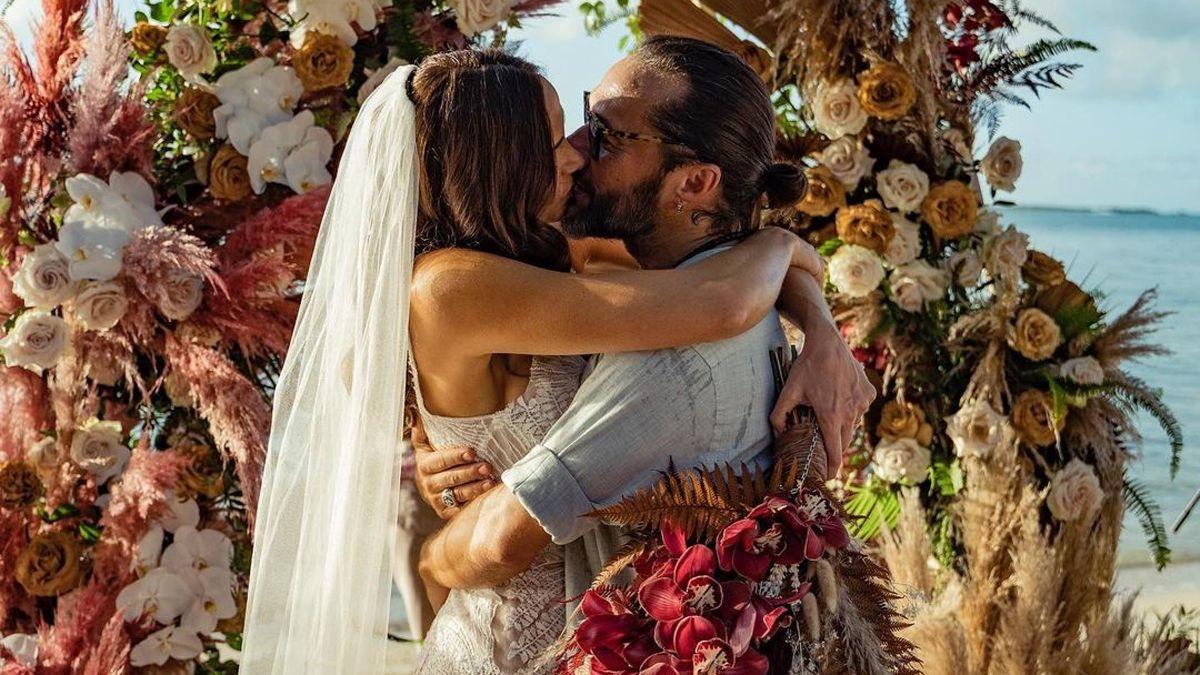 Débora Bello y Diego Torres se casaron.