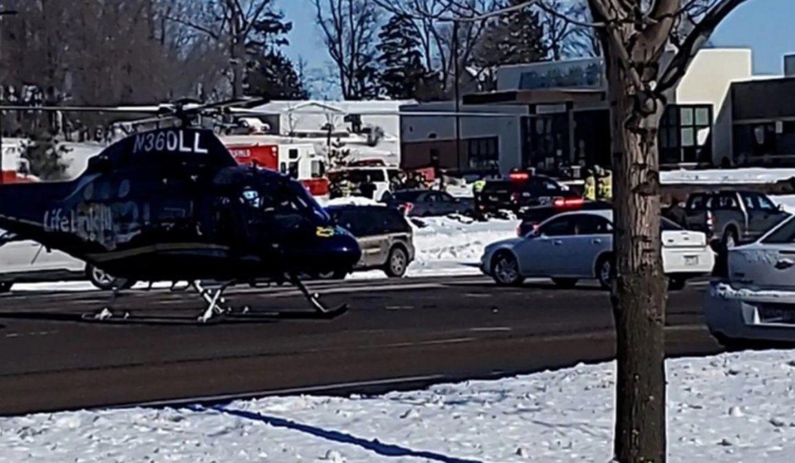 El ataque a tiros a una clínica de la ciudad de Buffalo dejó cinco heridos