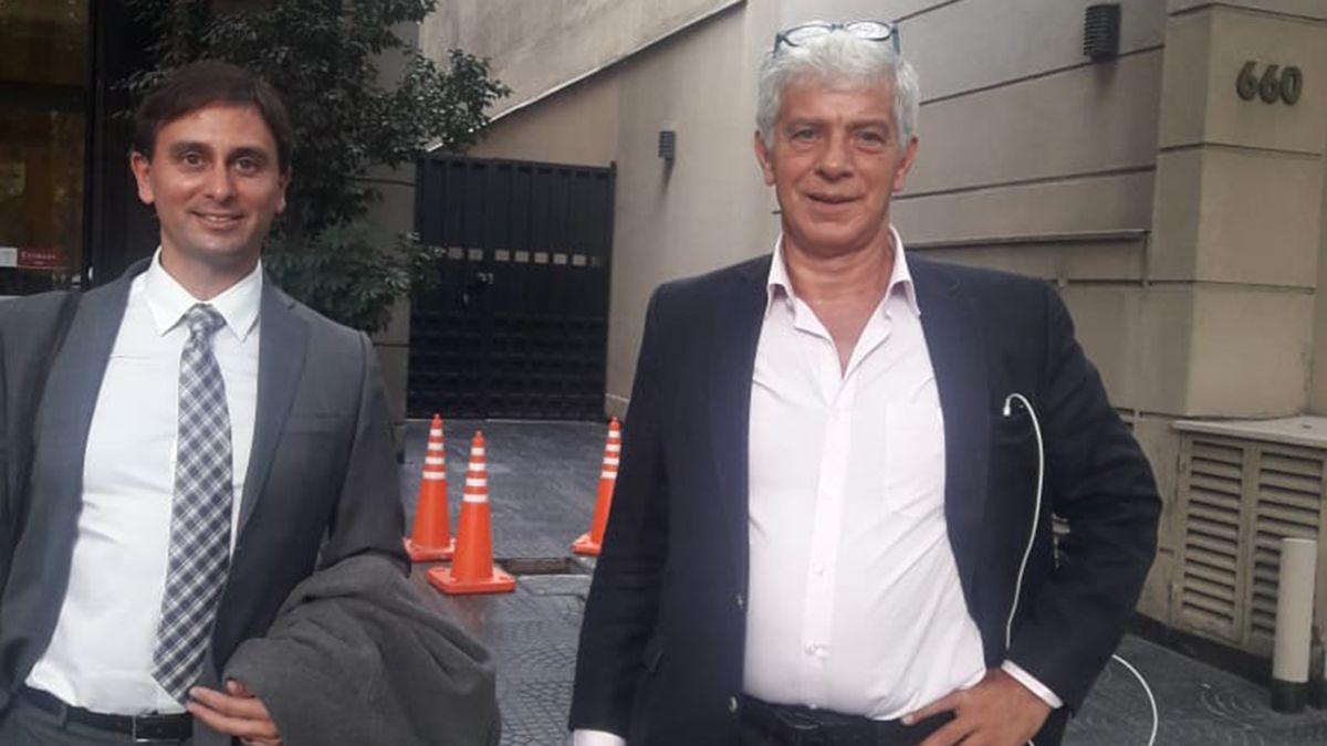 Los abogados Gazali y Cúneo Libarona.