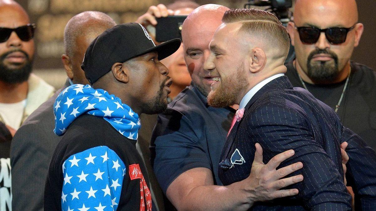 Mayweather le pegó muy duro a McGregor