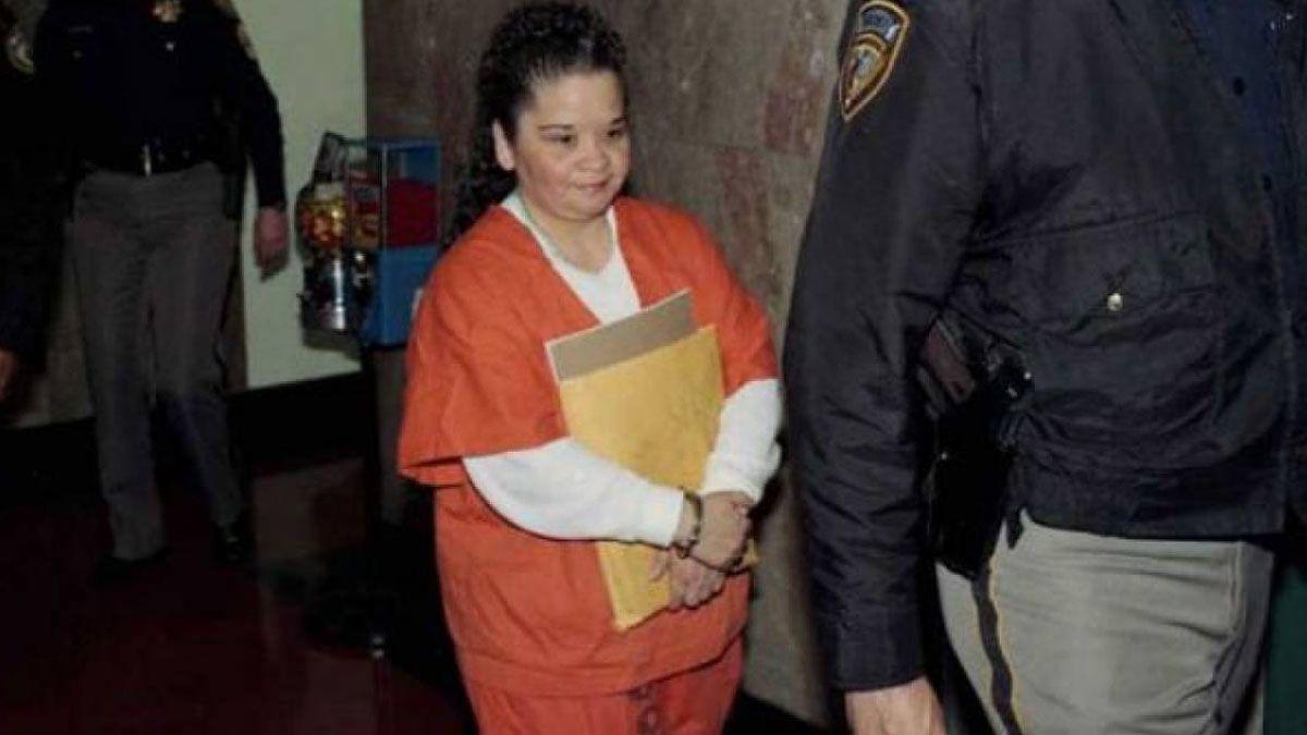 Yolanda detenida.