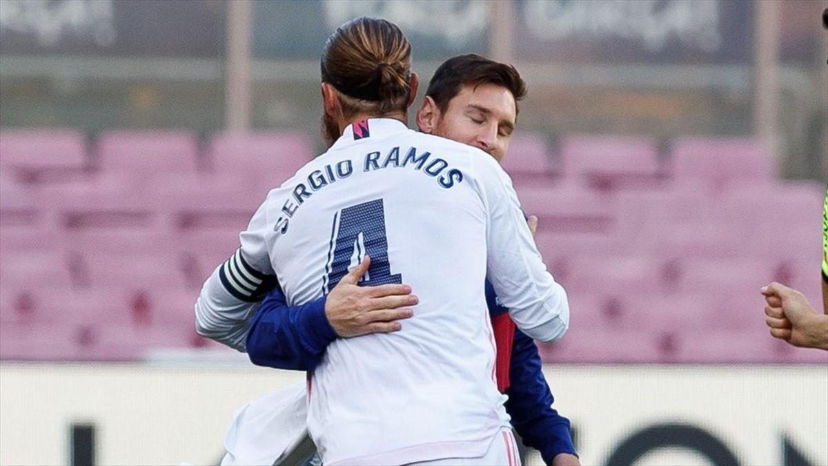 Sergio Ramos le dijo a Florentino Pérez que el PSG lo quiere a él y a Messi.