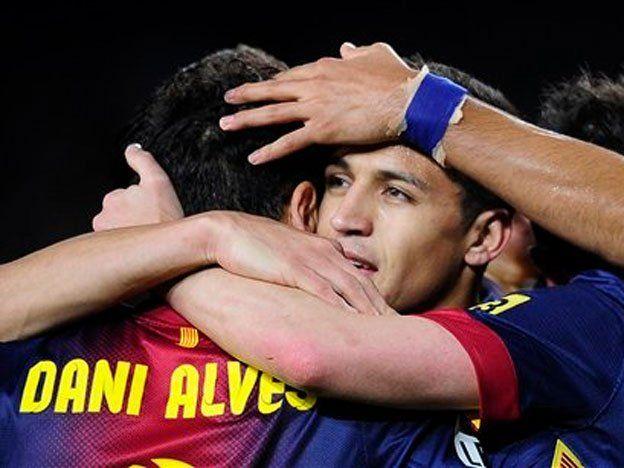 Messi marcó en el triunfo del Barcelona ante Deportivo La Coruña