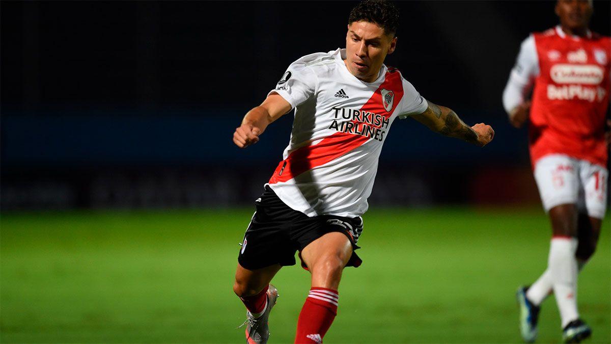 River no pasó del cero con Independiente Santa Fe