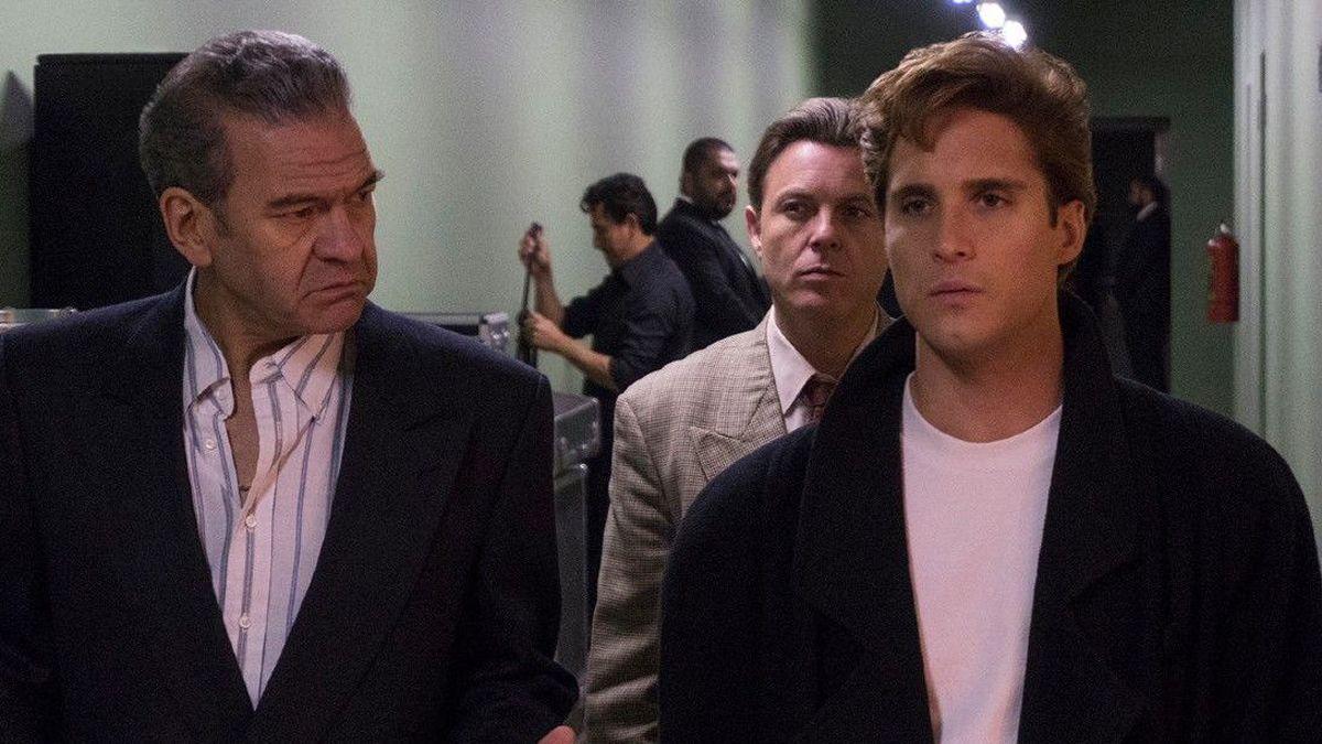 César Bordón (Hugo López) y Diego Boneta (Luis Miguel).