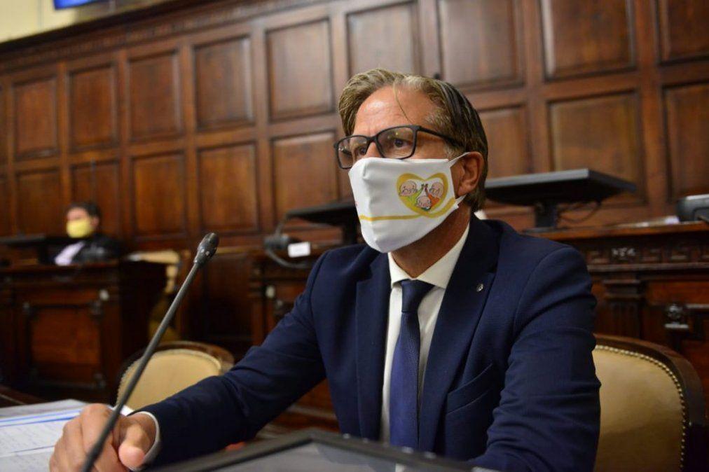 El senador Marcelo Rubio