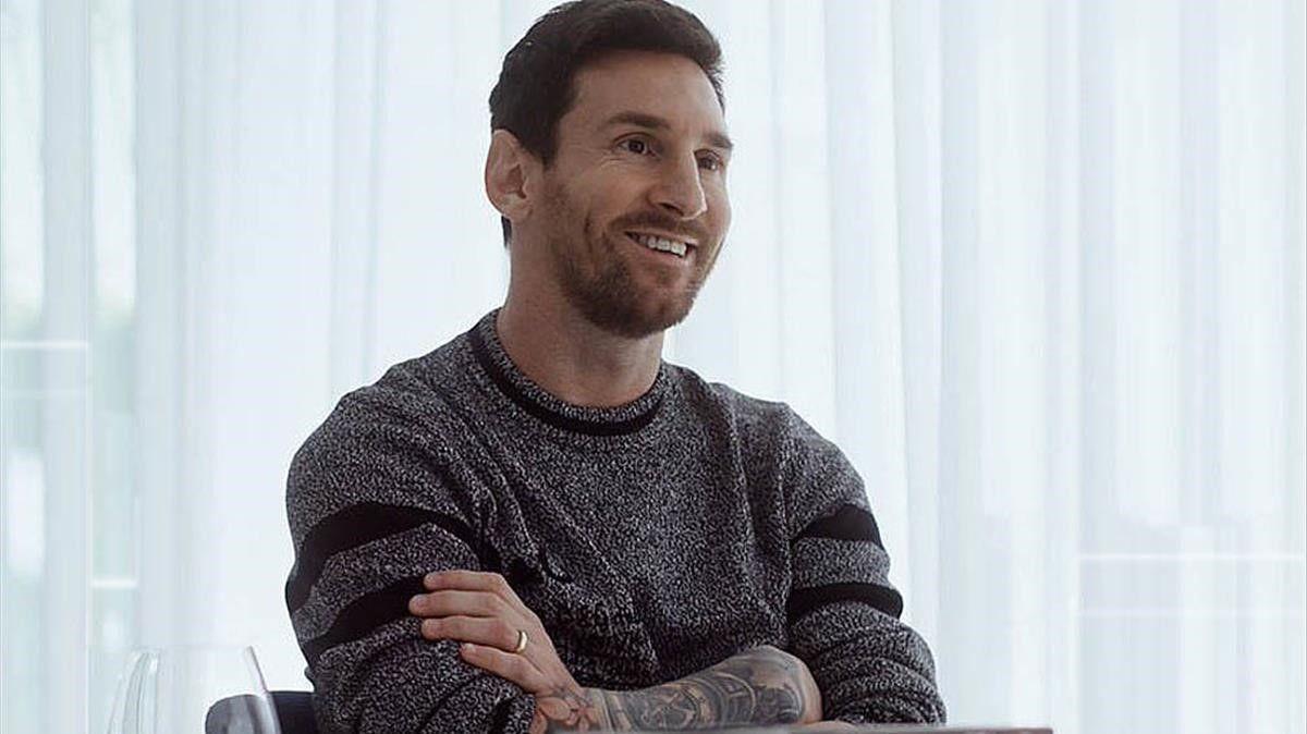 Messi dijo hace unos días que podría quedarse en Barcelona.