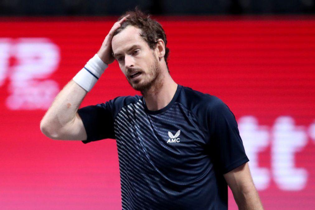 Murray fue invitado pero el coronavirus podría dejarlo afuera del torneo.