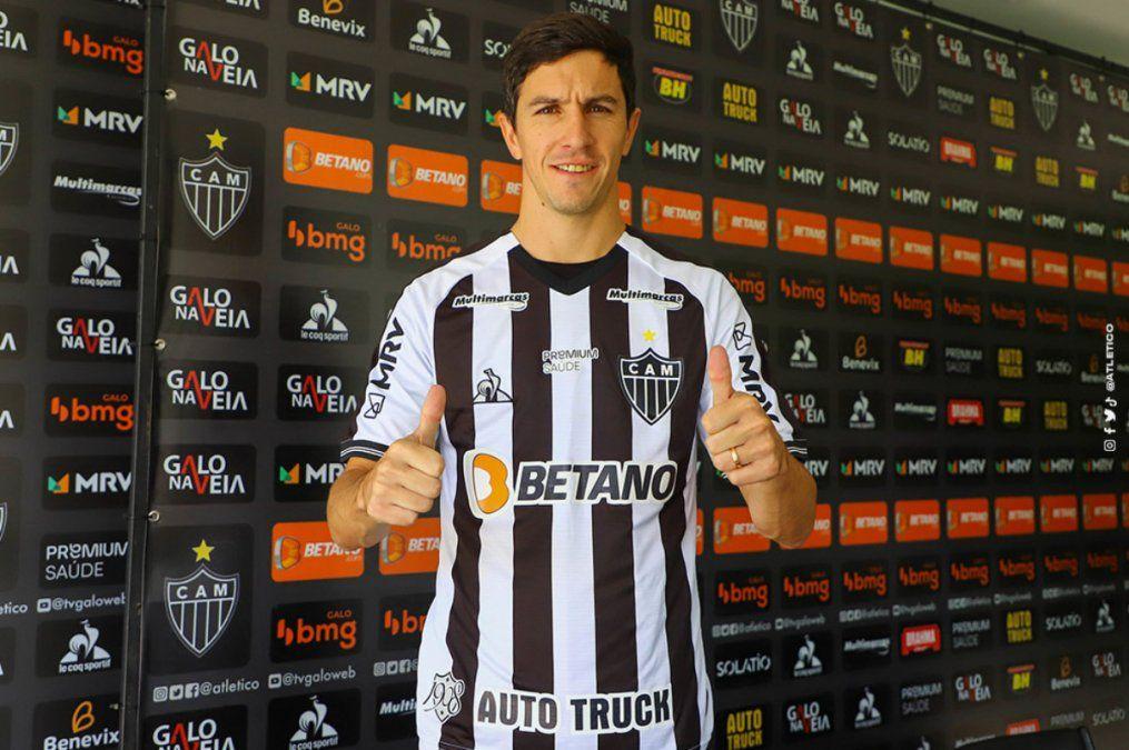 Nacho Fernández en el Atlético Mineiro: preparado para este gran desafío
