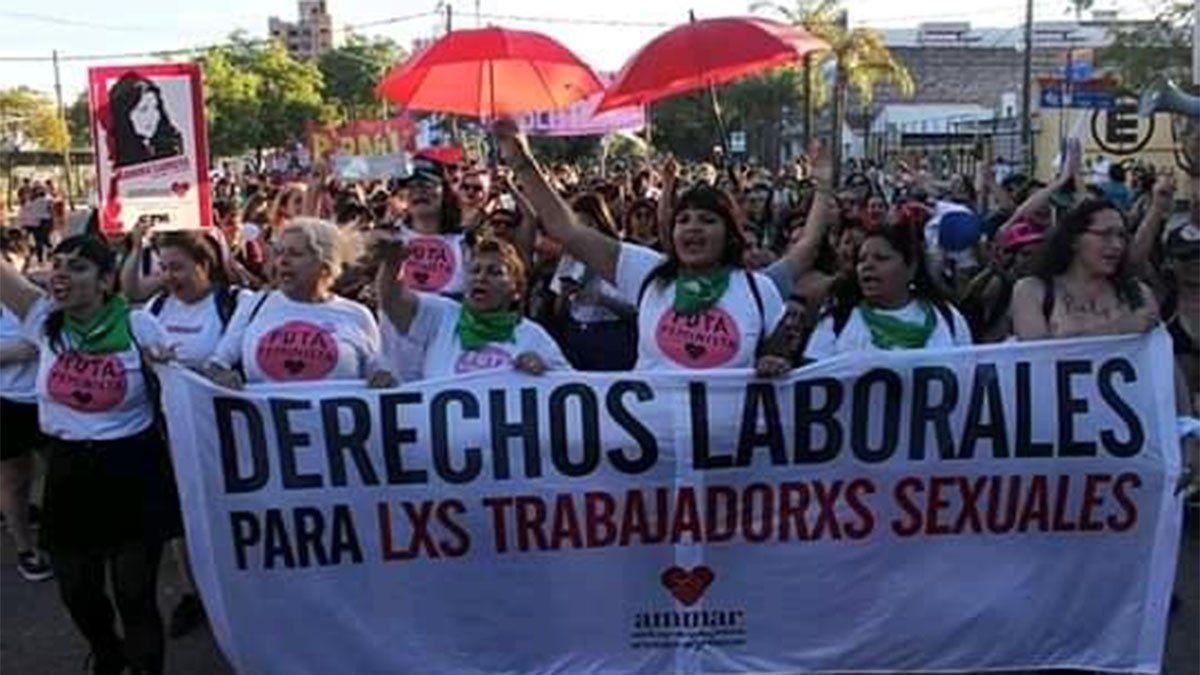 Fátima Olivares lucha desde la Asociación de Mujeres Meretrices de Argentina (Ammar) por los derechos de las prostitutas.
