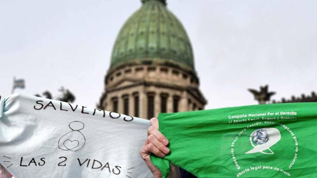 Aborto legal: comenzaron a colocar vallas en el Congreso