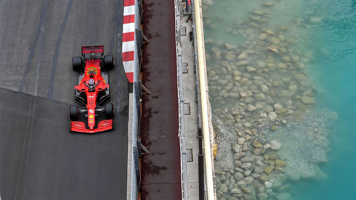 Leclerc puso a Ferrari en lo más alto de Mónaco