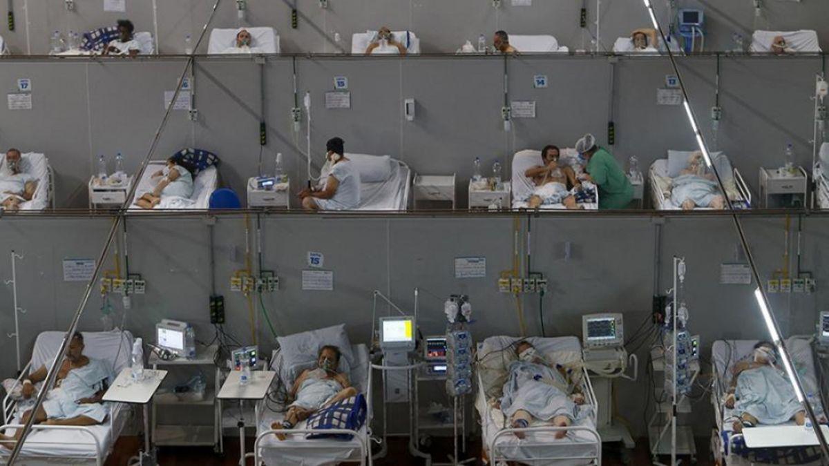 Brasil suma 12.748.747 pacientes infectados de coronavirus.