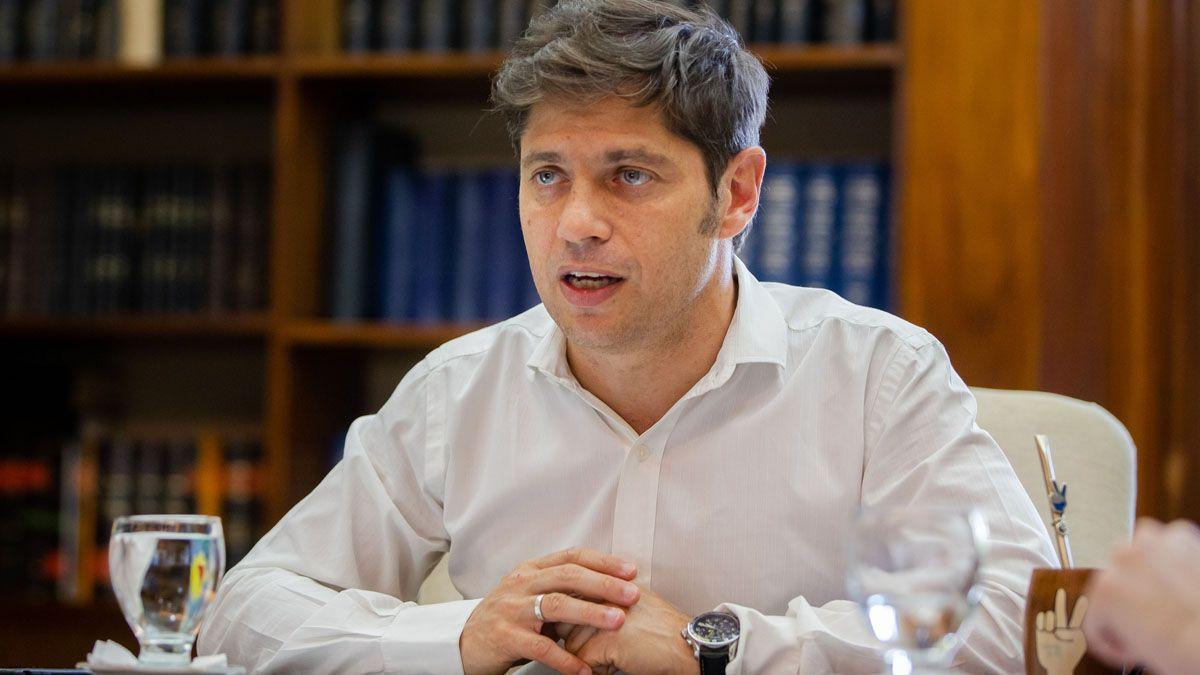 photo El gobernador Axel Kicillof quiere preservar a los grupos de riesgo