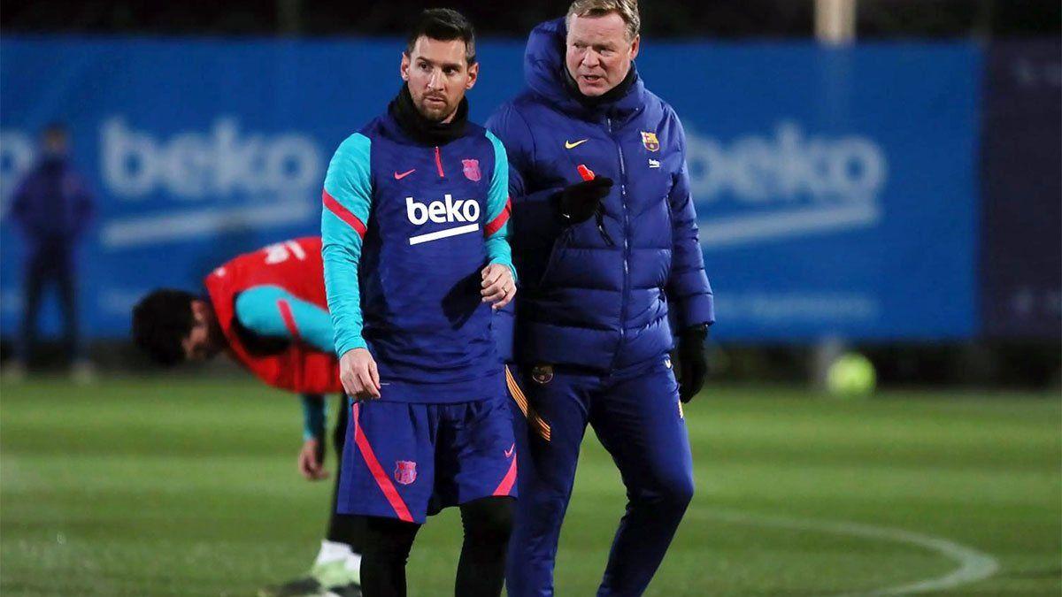 Todavía no veo a Messi con otra camiseta