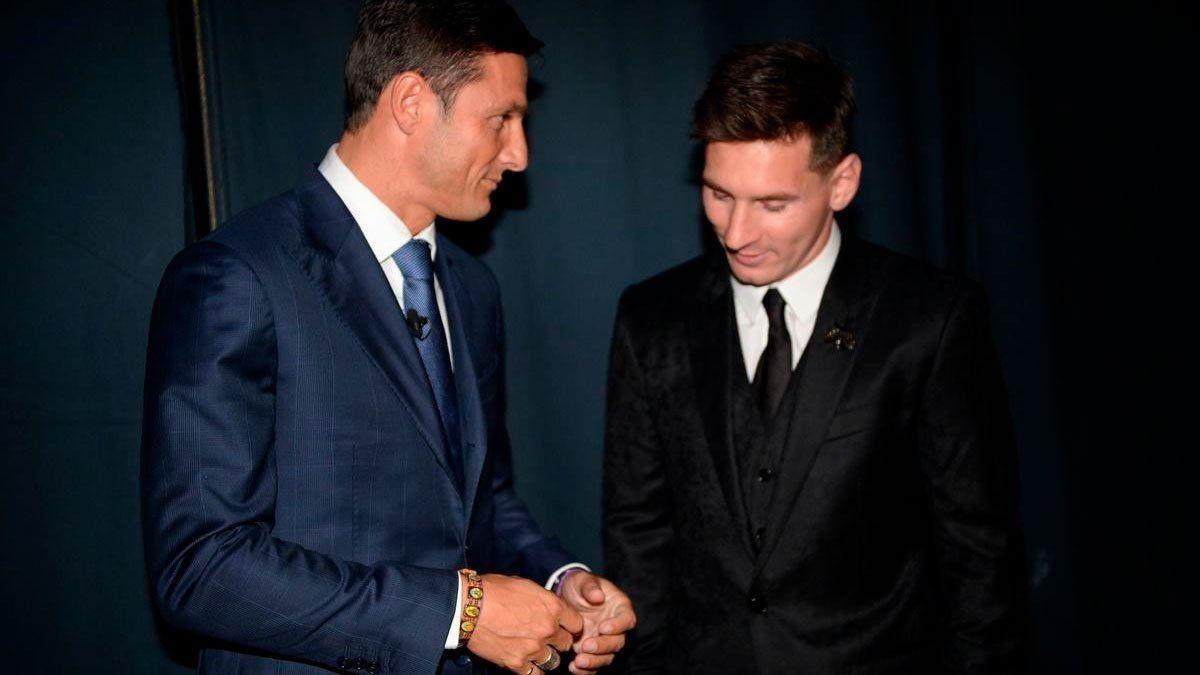 Zanetti confirmó que el Inter no estaba en condiciones de ofertar por Messi.
