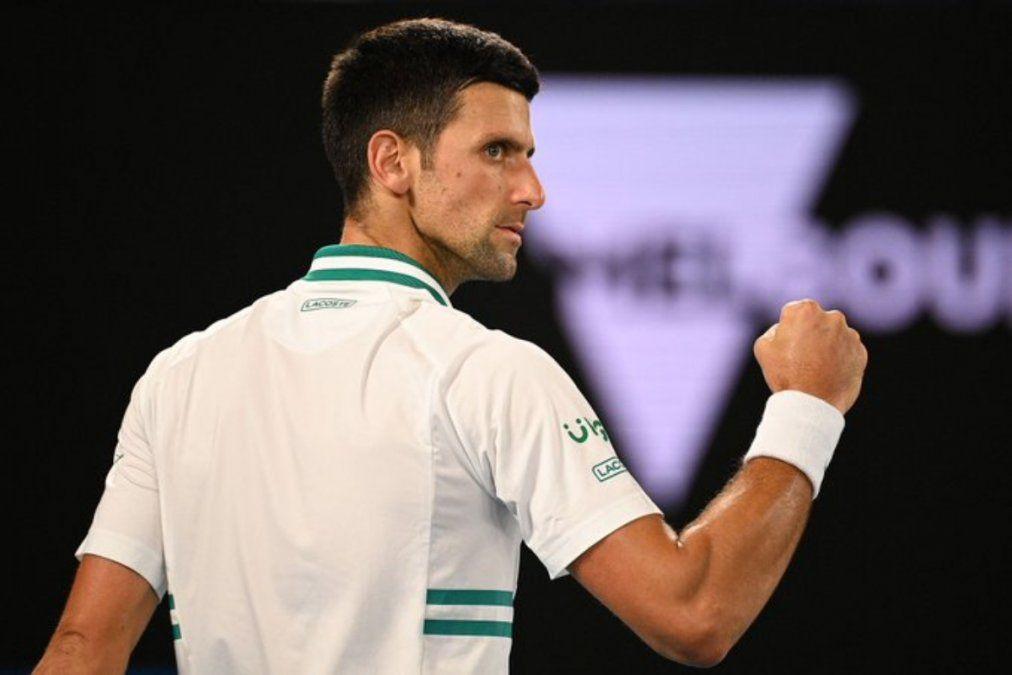 Novak Djokovic irá por su noveno título en el Abierto de Australia