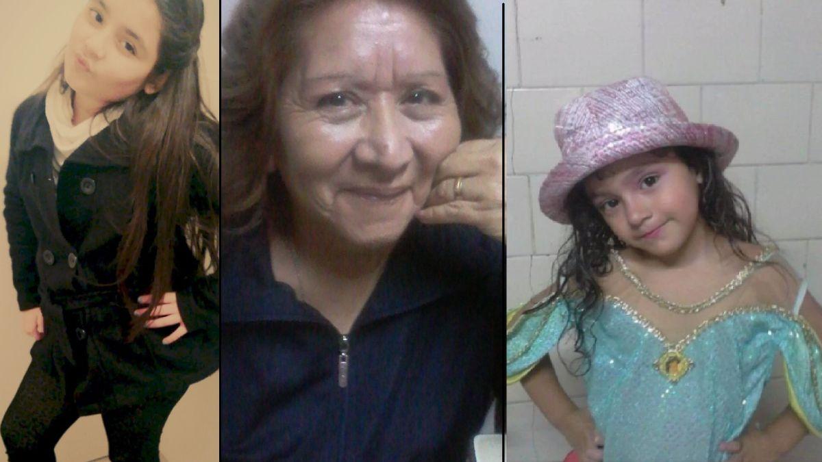 Las tres víctimas fatales de incendio en Guaymallén.