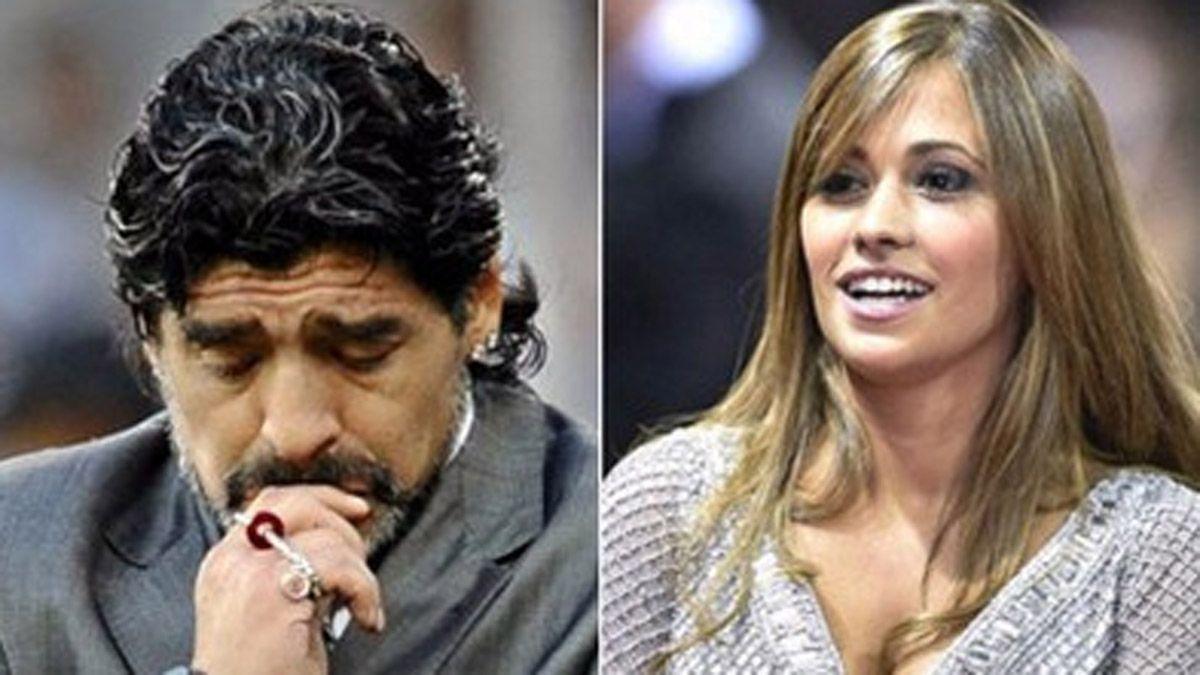 Antonela Roccuzzo posteó una foto de Maradona y emocionó