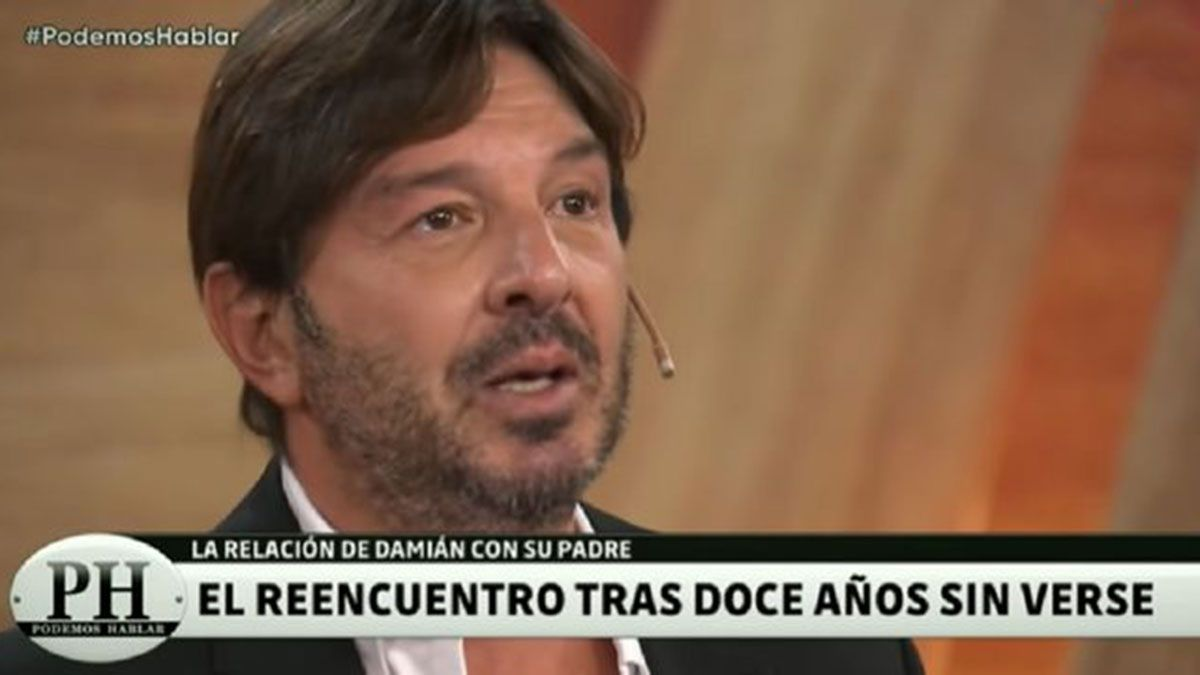 El actor Damián De Santo estuvo en PH y conmovió a todos con la historia de su relación con su padre