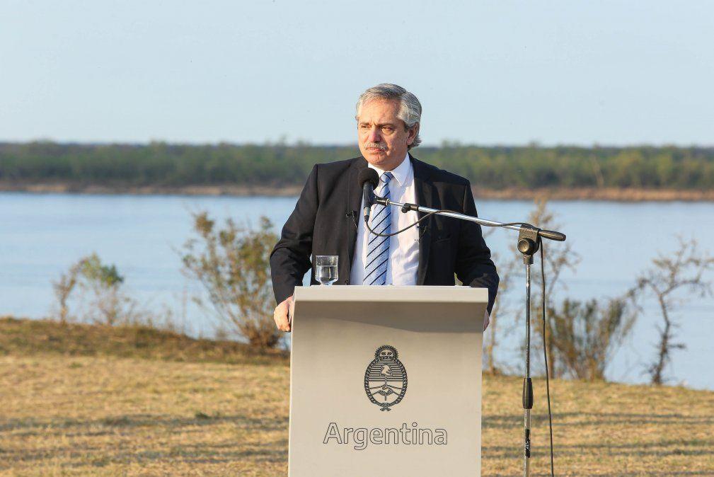 Alberto Fernández habló de la deuda y cómo sigue la negociación con el FMI