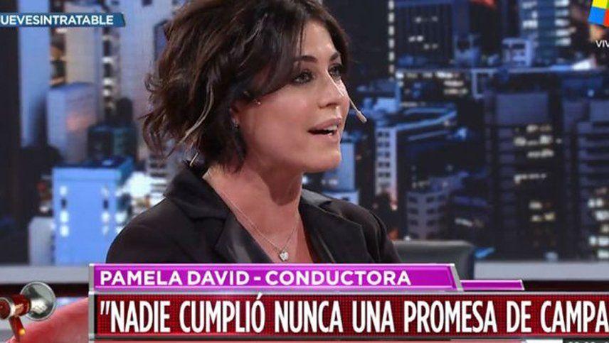 Pamela David: Tengo terror de votar porque no sé a quién