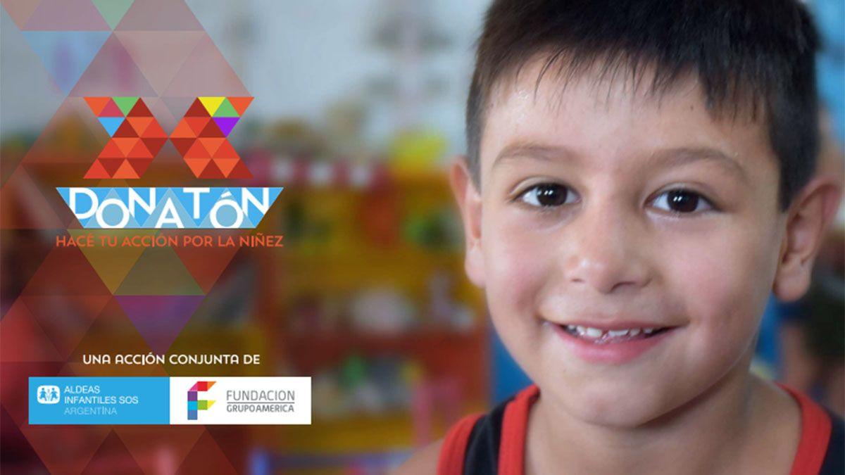 La DONATÓN ya está en marcha y todos pueden hacer su donación por los chicos.