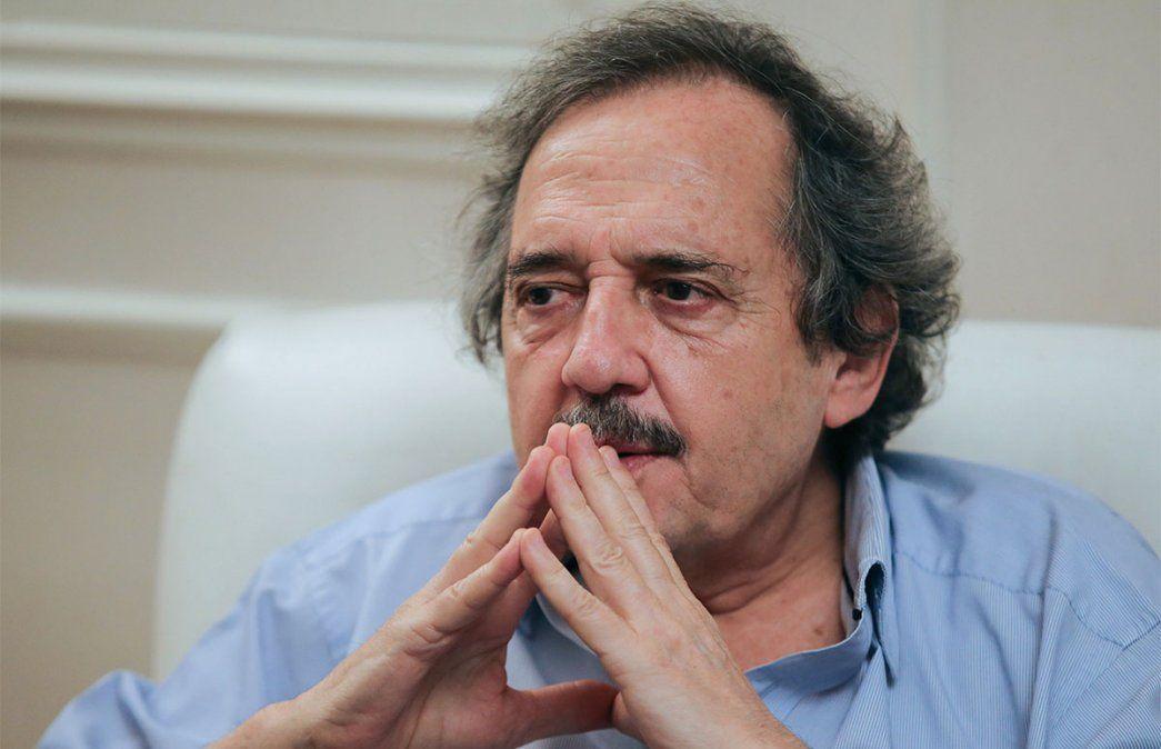 Ricardo Alfonsín habló sobre el conflicto de coparticipación en Buenos Aires. Foto: NA.