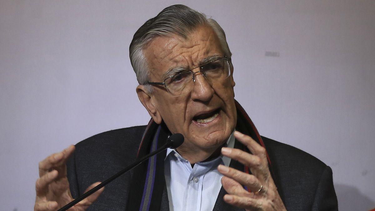 Gioja volvió a respaldar la candidatura del presidente Alberto Fernández para conducir el PJ nacional en el marco de una lista de unidad.