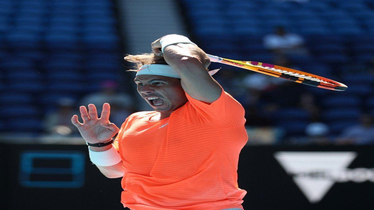 Rafael Nadal tuvo un sólido debut en el Abierto de Australia