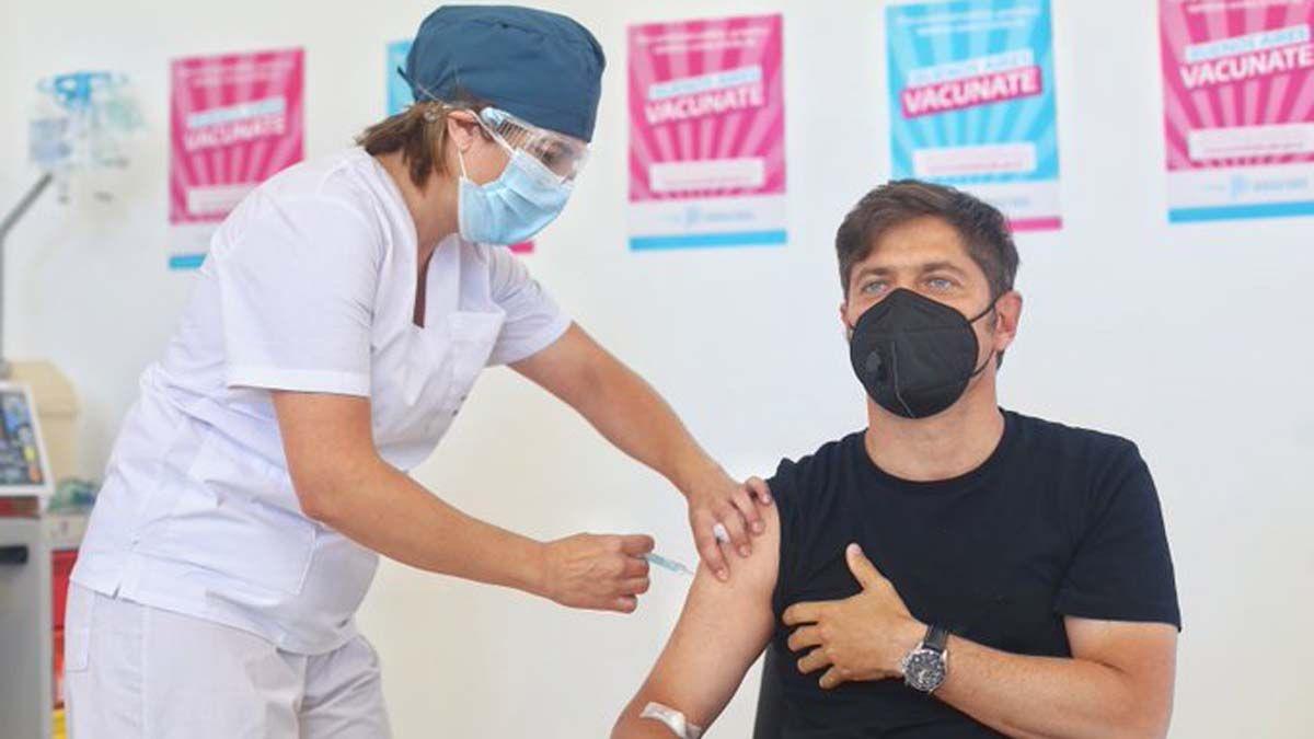 Kicillof: Militar contra las vacunas es muy miserable